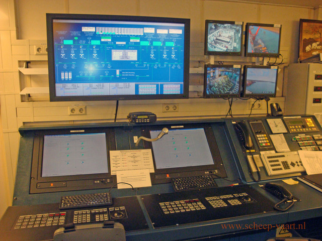 New controle room