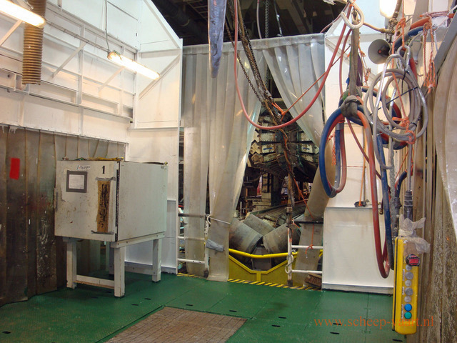 Coating / testing station
