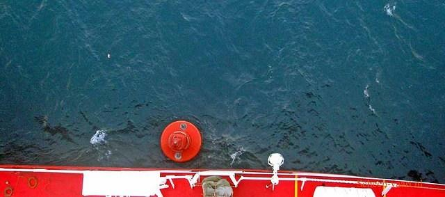 Close call with a buoy