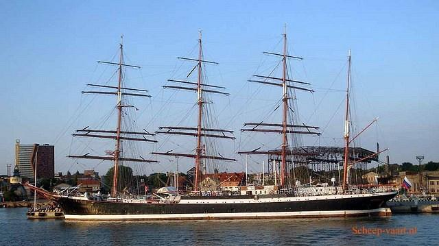 Sedov Russian Sailing ship
